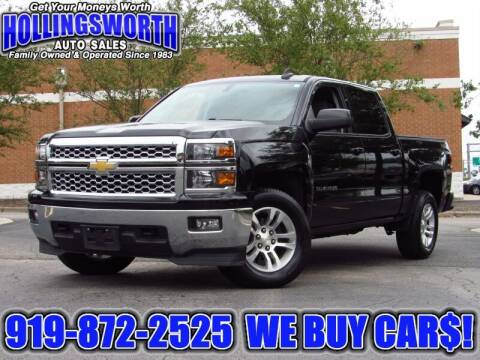 2015 Chevrolet Silverado 1500 for sale at Hollingsworth Auto Sales in Raleigh NC