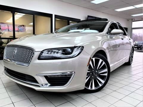 2017 Lincoln MKZ Hybrid for sale at SAINT CHARLES MOTORCARS in Saint Charles IL