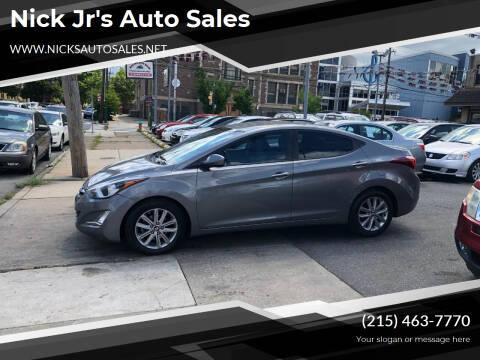 2014 Hyundai Elantra for sale at Nick Jr's Auto Sales in Philadelphia PA