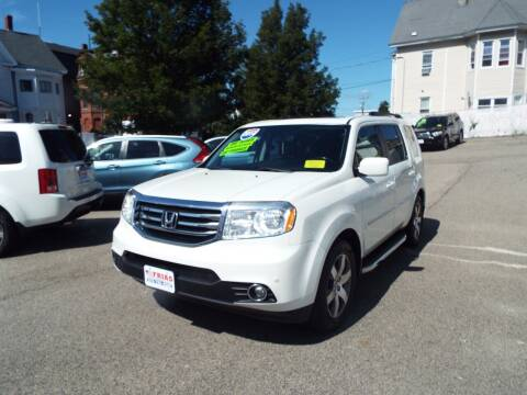 2014 Honda Pilot for sale at FRIAS AUTO SALES LLC in Lawrence MA