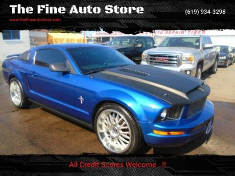 2007 Ford Mustang for sale at The Fine Auto Store in Imperial Beach CA