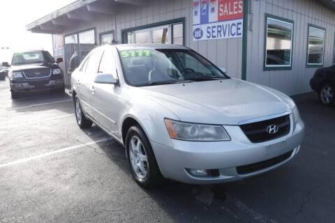 2006 Hyundai Sonata for sale at 777 Auto Sales and Service in Tacoma WA