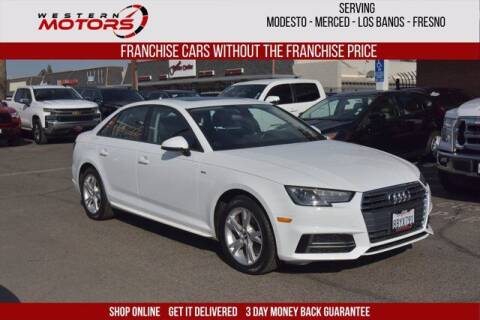 2018 Audi A4 for sale at Choice Motors in Merced CA