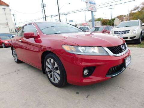 2013 Honda Accord for sale at AMD AUTO in San Antonio TX
