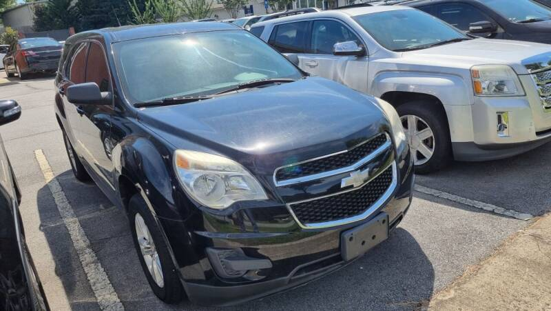 2011 Chevrolet Equinox for sale at Credit Cars LLC in Lawrenceville GA