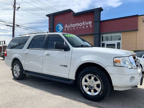 2008 Ford Expedition EL for sale at Automotive Solutions in Louisville KY