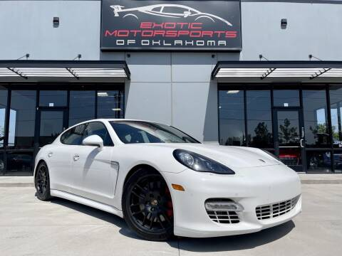 2012 Porsche Panamera for sale at Exotic Motorsports of Oklahoma in Edmond OK