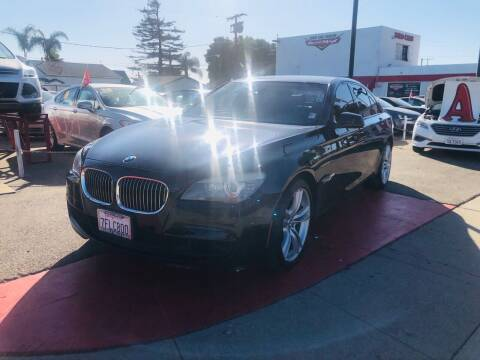 2011 BMW 7 Series for sale at Auto Max of Ventura in Ventura CA