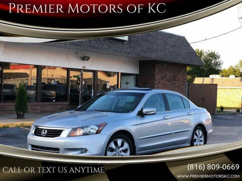 2010 Honda Accord for sale at Premier Motors of KC in Kansas City MO