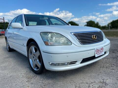 2004 Lexus LS 430 for sale at Collins Auto Sales in Waco TX