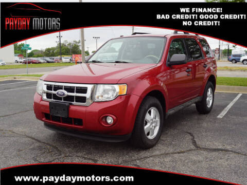 2010 Ford Escape for sale at Payday Motors in Wichita KS