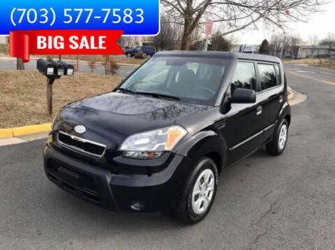 2010 Kia Soul for sale at Dreams Auto Group LLC in Sterling VA