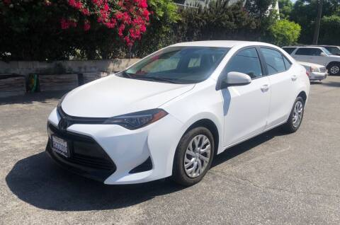 2019 Toyota Corolla for sale at Eden Motor Group in Los Angeles CA