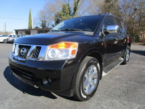 2011 Nissan Armada for sale at Lewis Page Auto Brokers in Gainesville GA