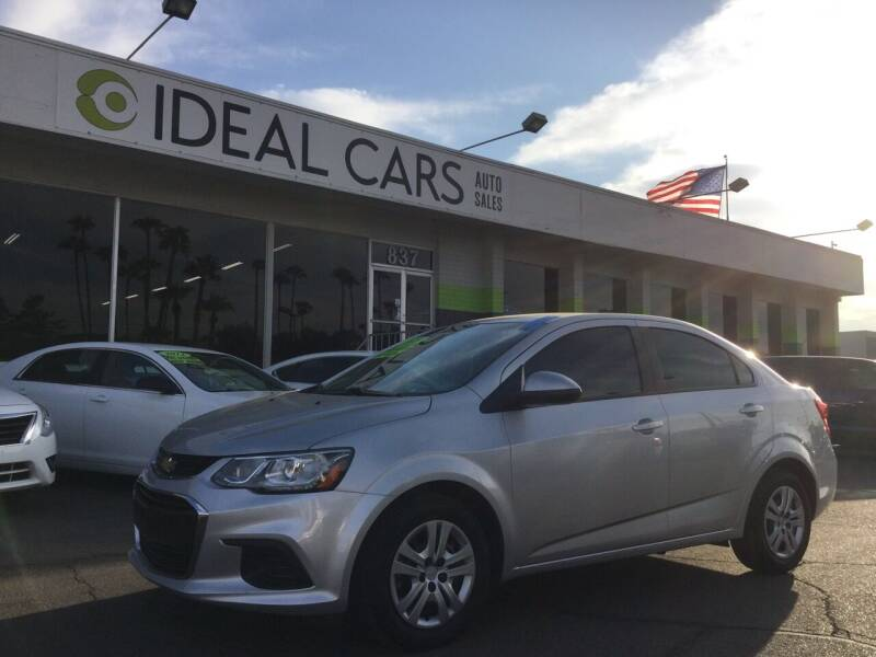 2018 Chevrolet Sonic for sale at Ideal Cars East Mesa in Mesa AZ
