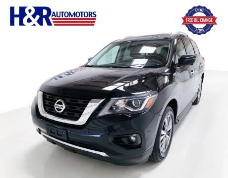 2018 Nissan Pathfinder for sale at H&R Auto Motors in San Antonio TX