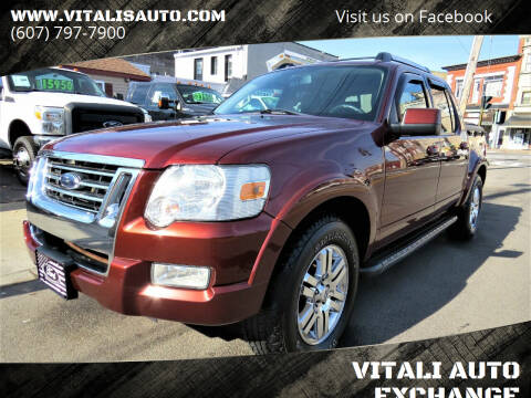 2010 Ford Explorer Sport Trac for sale at VITALI AUTO EXCHANGE in Johnson City NY