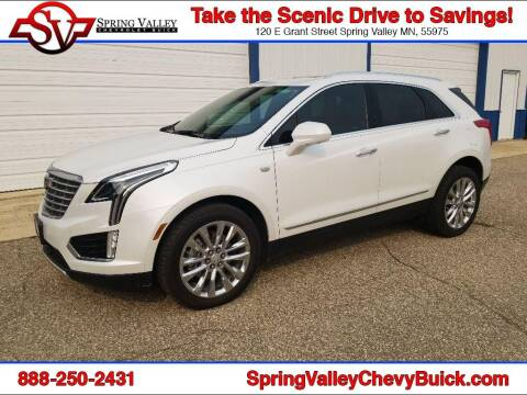 2017 Cadillac XT5 for sale at Spring Valley Chevrolet Buick in Spring Valley MN