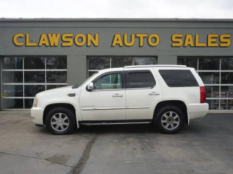 2007 Cadillac Escalade for sale at Clawson Auto Sales in Clawson MI