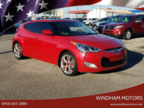 2013 Hyundai Veloster for sale at Windham Motors in Florence SC