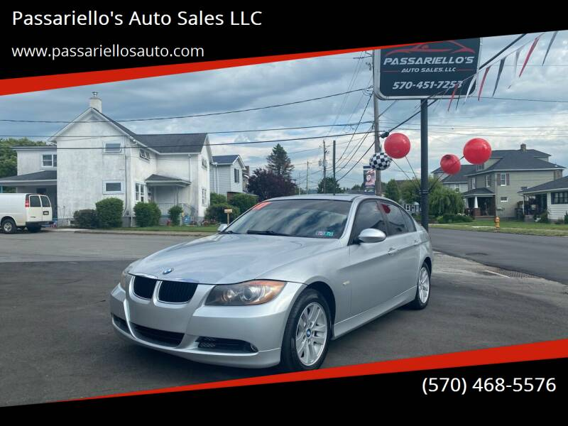 2007 BMW 3 Series for sale at Passariello's Auto Sales LLC in Old Forge PA