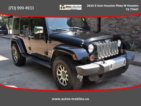 2010 Jeep Wrangler Unlimited for sale at AUTOS-MOBILES in Houston TX