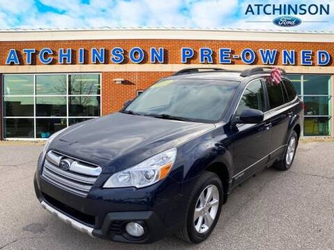 2014 Subaru Outback for sale at Atchinson Ford Sales Inc in Belleville MI