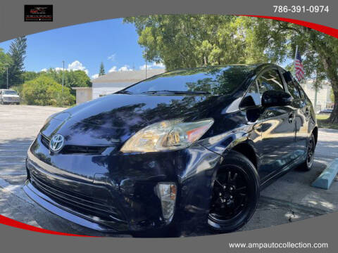 2013 Toyota Prius for sale at Amp Auto Collection in Fort Lauderdale FL