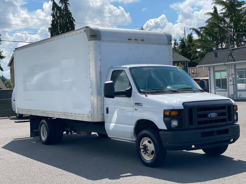 2013 Ford E-350BoxTruckCargoVan for sale at Lux Motors in Tacoma WA