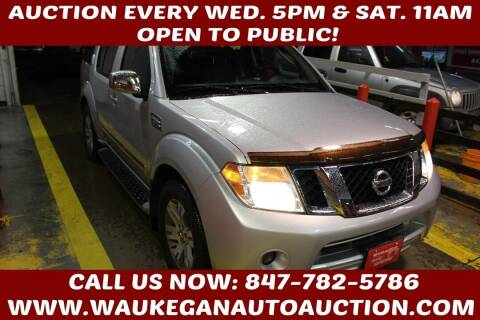 2011 Nissan Pathfinder for sale at Waukegan Auto Auction in Waukegan IL