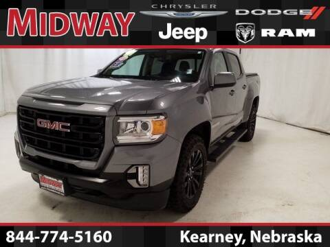 2021 GMC Canyon for sale at MIDWAY CHRYSLER DODGE JEEP RAM in Kearney NE