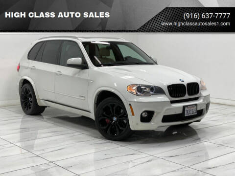 2012 BMW X5 for sale at HIGH CLASS AUTO SALES in Rancho Cordova CA