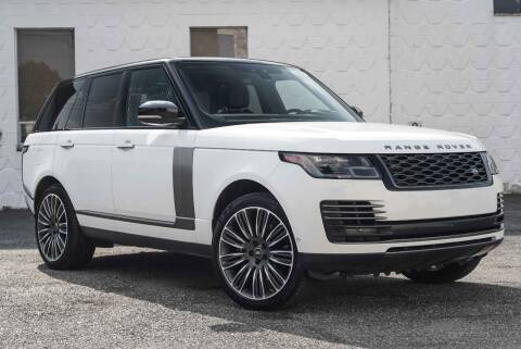 2020 Land Rover Range Rover for sale at Vantage Auto Wholesale in Moonachie NJ