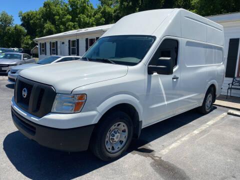 2012 Nissan NV Cargo for sale at NextGen Motors Inc in Mount Juliet TN