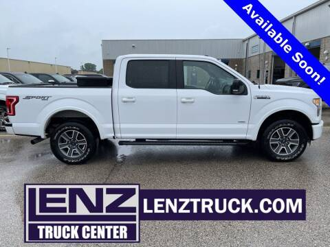2016 Ford F-150 for sale at LENZ TRUCK CENTER in Fond Du Lac WI