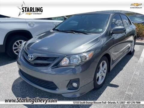 2013 Toyota Corolla for sale at Pedro @ Starling Chevrolet in Orlando FL
