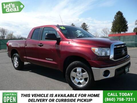 2010 Toyota Tundra for sale at Shamrock Motors in East Windsor CT