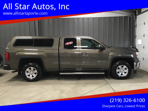 2014 GMC Sierra 1500 for sale at All Star Autos, Inc in La Porte IN