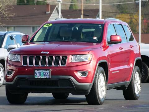2014 Jeep Grand Cherokee for sale at CLINT NEWELL USED CARS in Roseburg OR