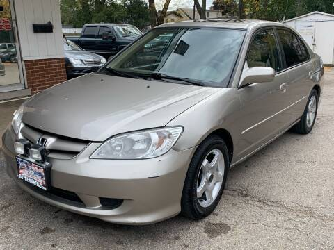 2005 Honda Civic for sale at New Wheels in Glendale Heights IL