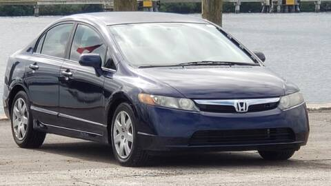 2008 Honda Civic for sale at Pioneers Auto Broker in Tampa FL