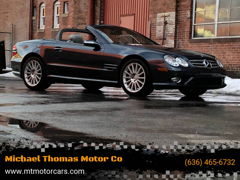 2008 Mercedes-Benz SL-Class for sale at Michael Thomas Motor Co in Saint Charles MO