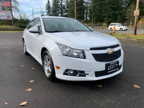 2012 Chevrolet Cruze for sale at CAR MASTER PROS AUTO SALES in Lynnwood WA