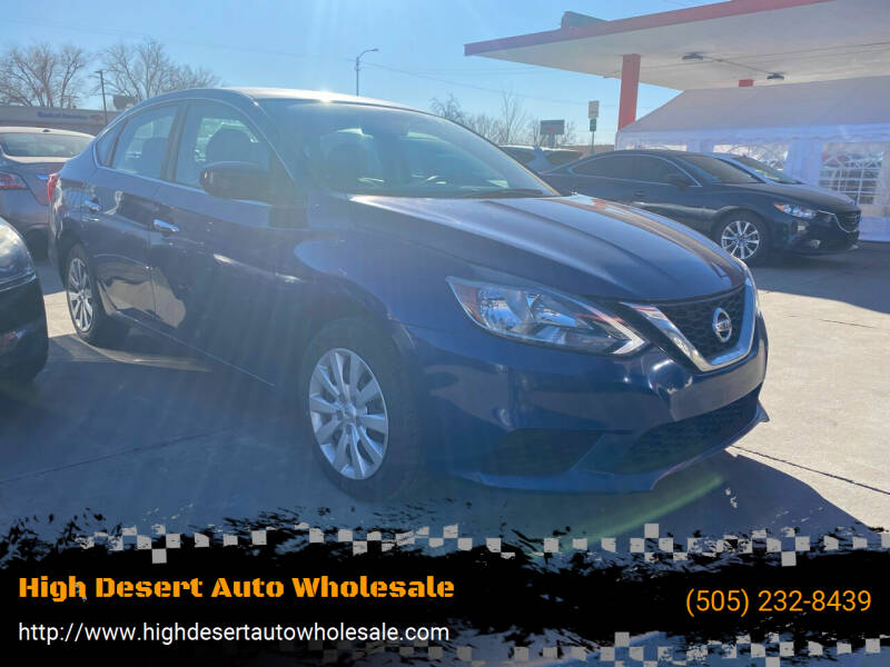 2017 Nissan Sentra for sale at High Desert Auto Wholesale in Albuquerque NM