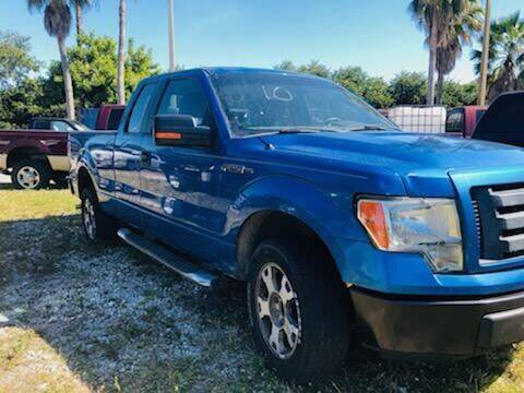 2009 Ford F-150 for sale at DAN'S DEALS ON WHEELS in Davie FL