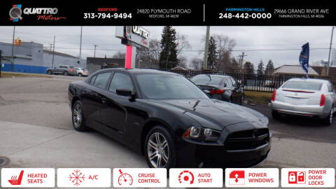 2013 Dodge Charger for sale at Quattro Motors 2 - 1 in Redford MI