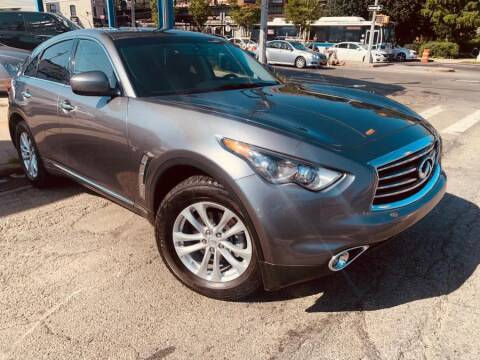 2016 Infiniti QX70 for sale at Excellence Auto Trade 1 Corp in Brooklyn NY