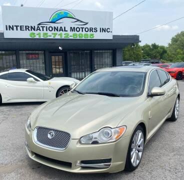 2010 Jaguar XF for sale at International Motors Inc. in Nashville TN