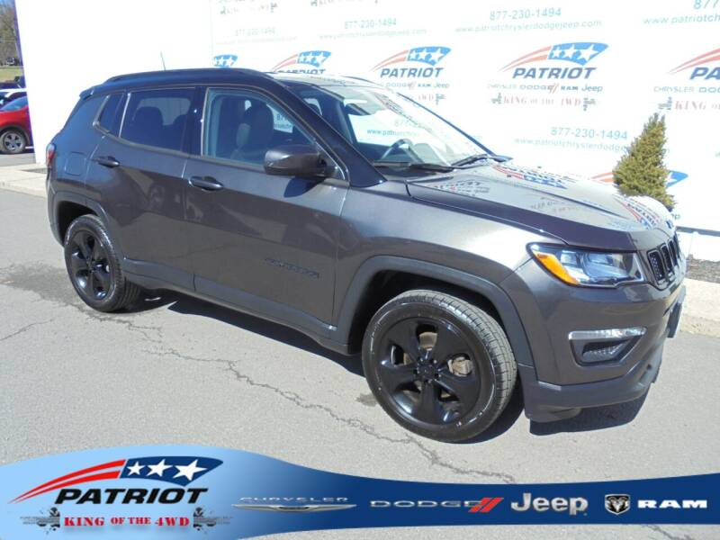 2018 Jeep Compass for sale at PATRIOT CHRYSLER DODGE JEEP RAM in Oakland MD