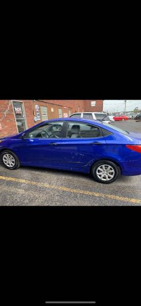 2012 Hyundai Accent for sale at Trocci's Auto Sales in West Pittsburg PA